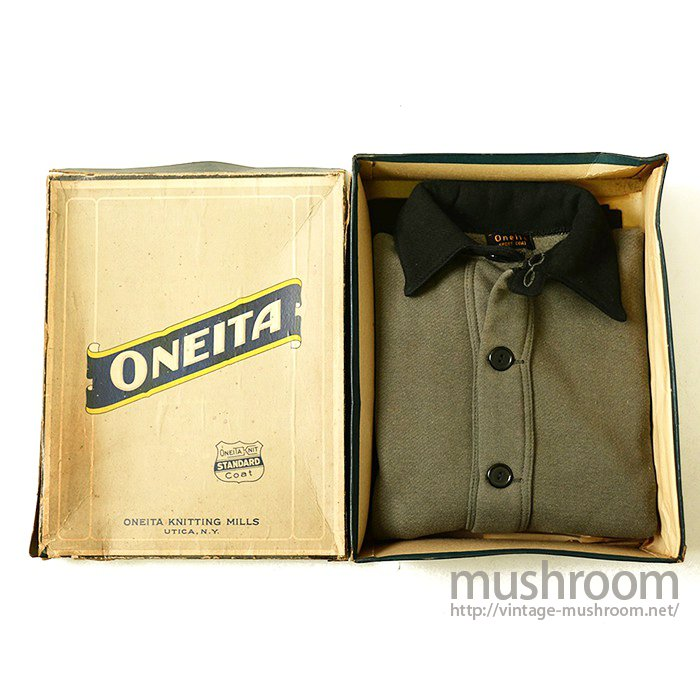 ONEITA A-1 STYLE TWO-TONE SWEAT COAT(DEADSTOCK)