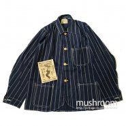 Welch's ROPE STRIPE COVERALL( DEADSTOCK )
