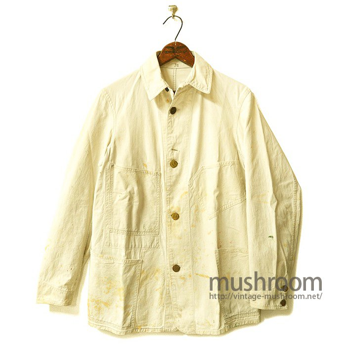 SWEET-ORR WHITE COTTON COVERALL