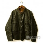 OLD GLOVE LEATHER CAR COAT
