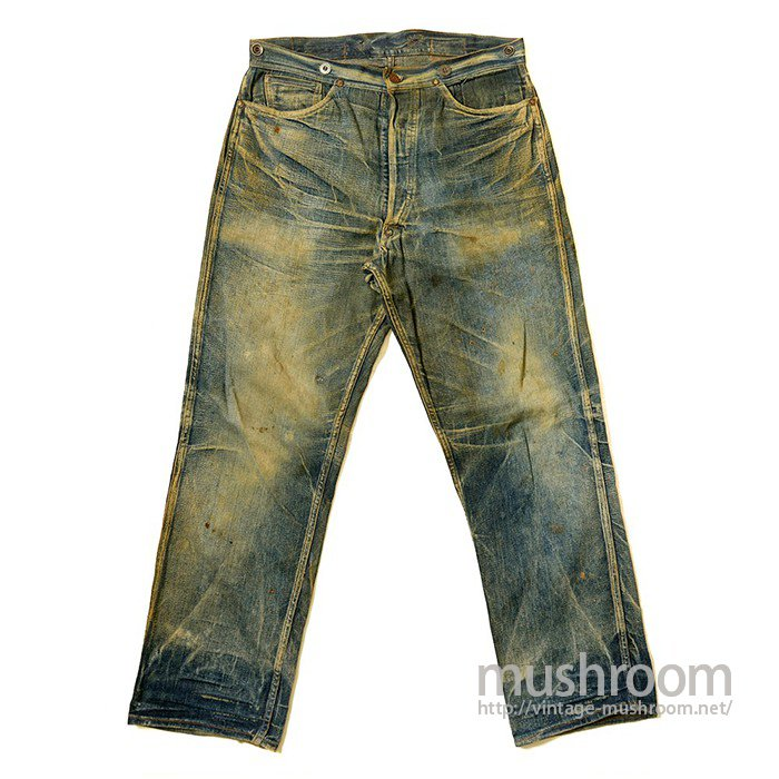 Stronghold Denim Work Pants With Buckleback