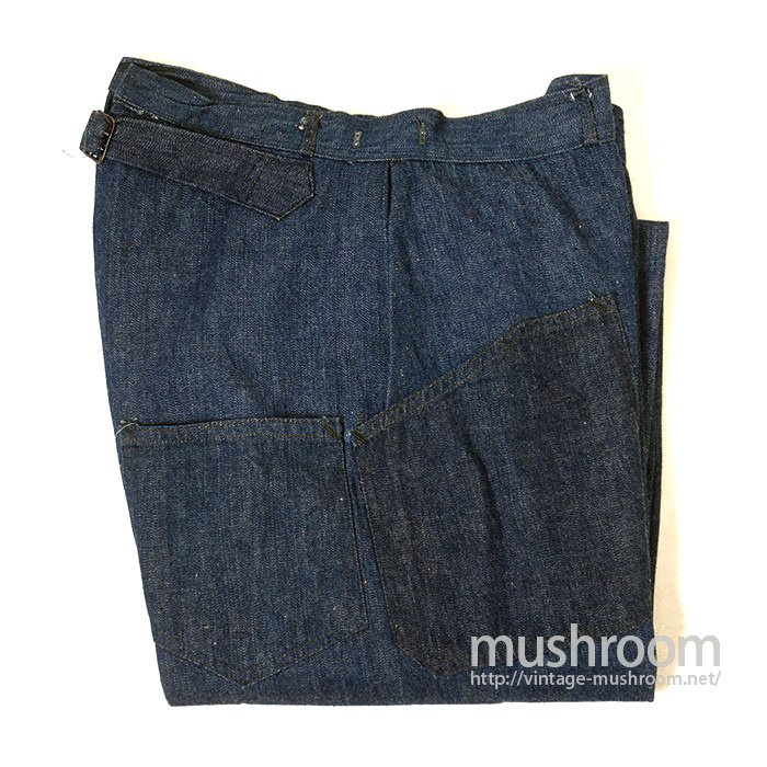 WW1 U.S.N DENIM TROUSER( SUPER MINT )