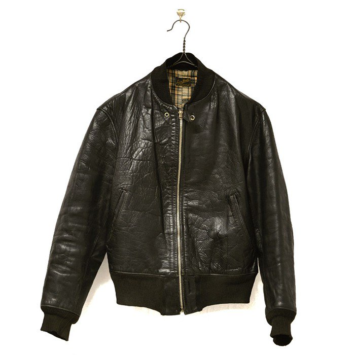 Sasco Jack's Sportswear Horsehide Leather Sports Jacket