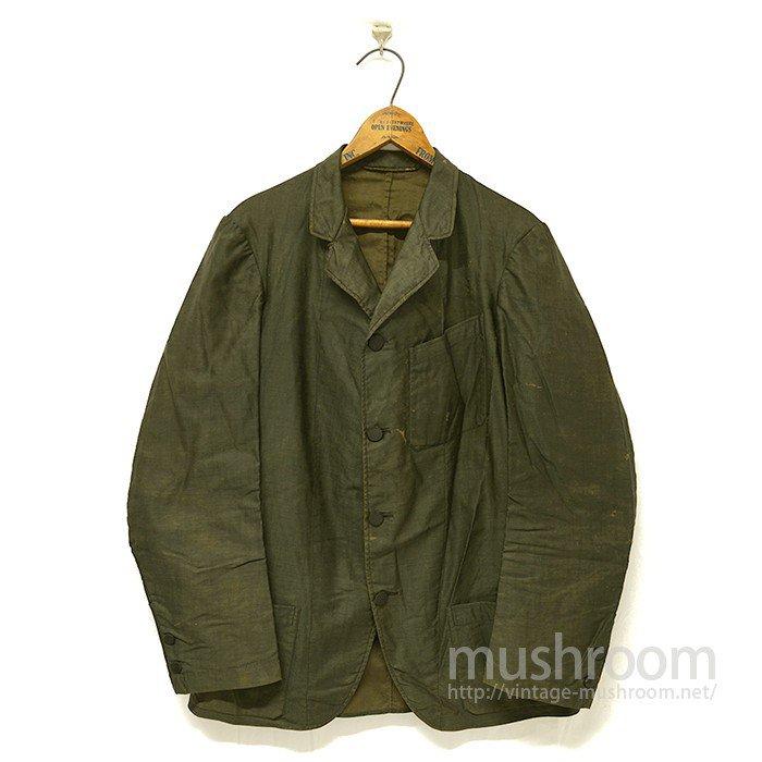 Old Black Cotton Sack Coat