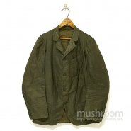 Old Black Cotton Sack Coat