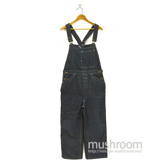 BOSS OF THE ROAD DENIM OVERALLS