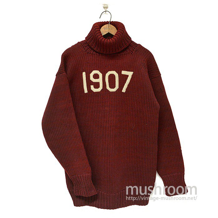 1907 TURTLE-NECK SWEATER