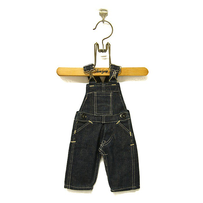 THE HUB SALESMAN SAMPLE DENIM OVERALL