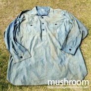 BIG YANK ADVERTISING CHAMBRAY SHIRT( STORE DISPLAY )