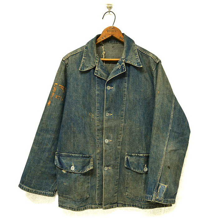 U.S.ARMY DENIM JACKET With PW STENCIL