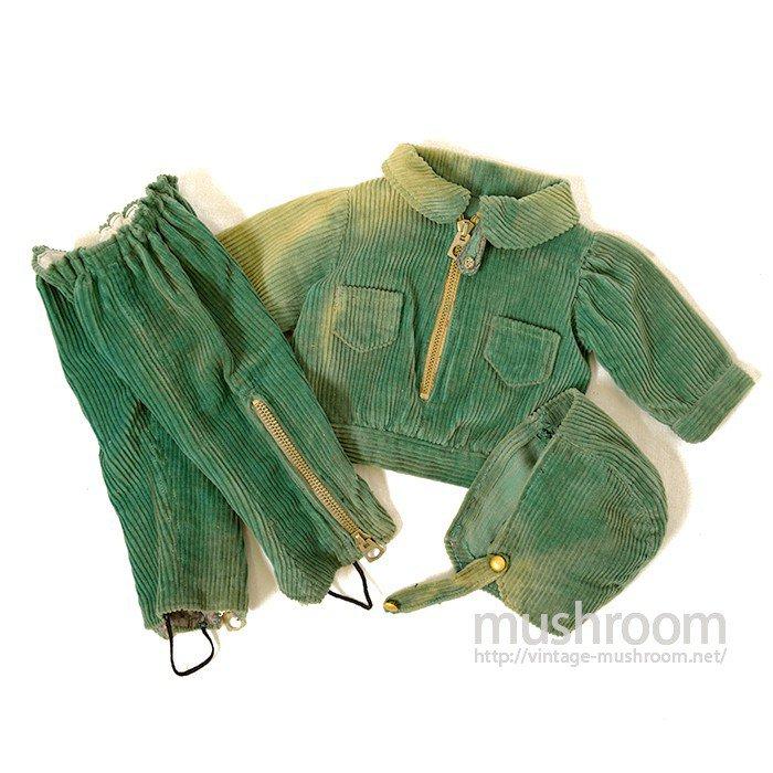 DOLLS CLOTHES With TALON HOOKLESS ZIPPER