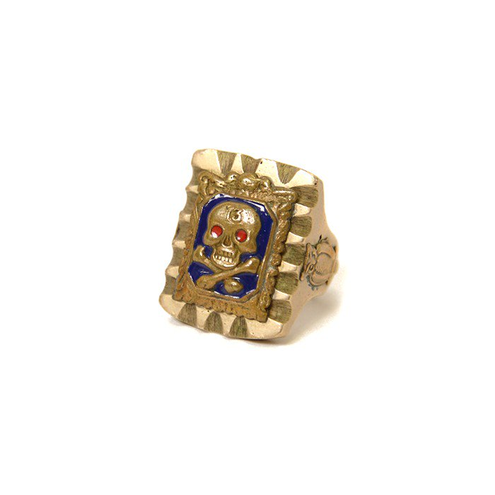 OLD SKULL MEXICAN'S RING