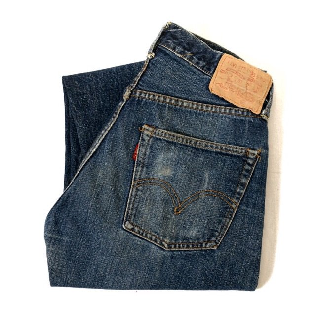 LEVIS 501 BIGE A or S TYPE JEANS