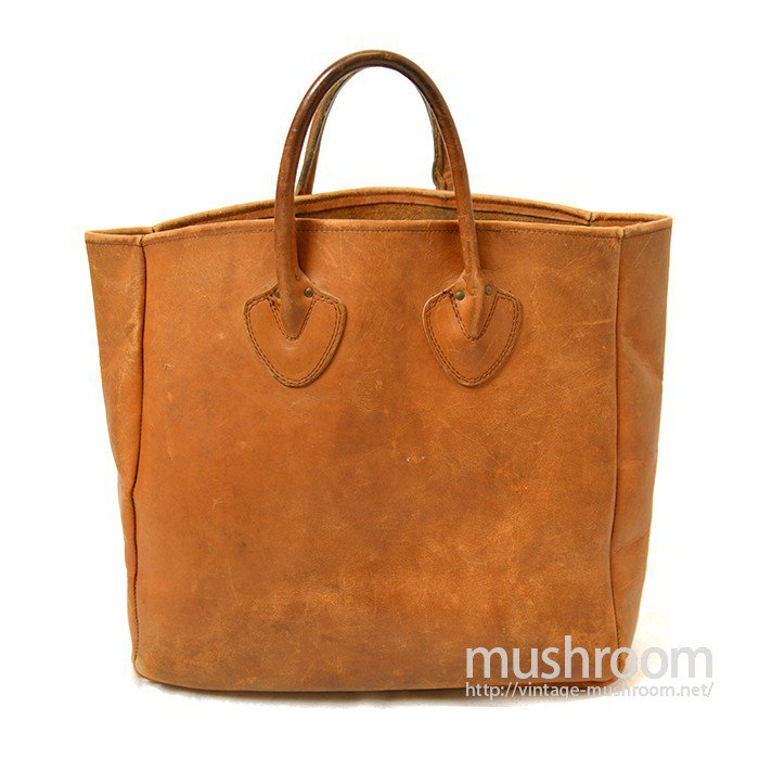 L.L.BEAN ALL-LEATHER TOTE BAG