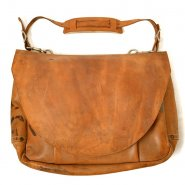 U.S.MAIL LEATHER BAG( MINT )