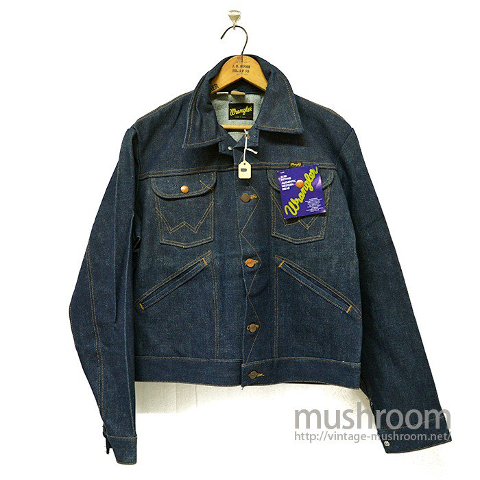 WRANGLER 124MJ DENIM JACKET( 40/DEADSTOCK )