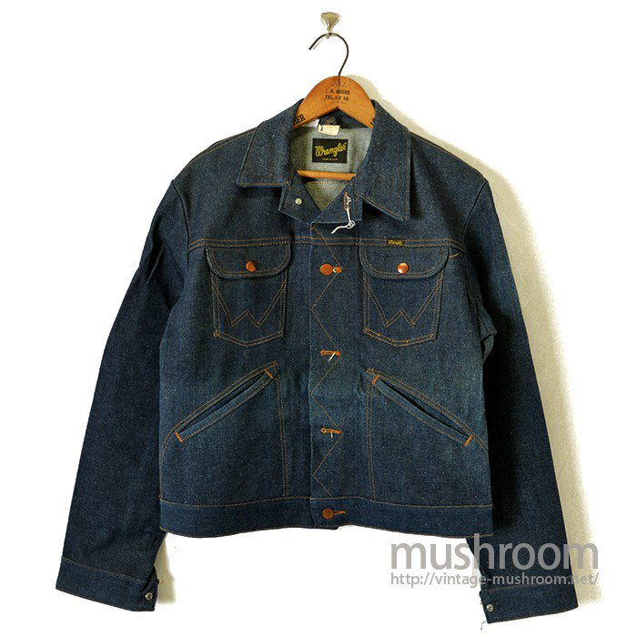 WRANGLER 124MJ DENIM JACKET( 42/DEADSTOCK )