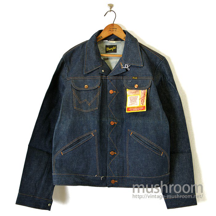 WRANGLER 124MJ DENIM JACKET( 44L/DEADSTOCK )