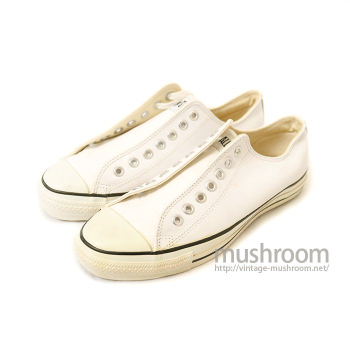 CONVERSE ALL-STAR LO LEATHER SHOE( DEADSTOCK )