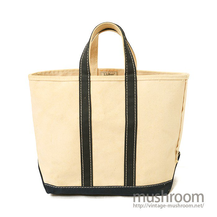 L.L.BEAN CANVAS TOTE BAG( NAVY/NATURAL/DEADSTOCK )