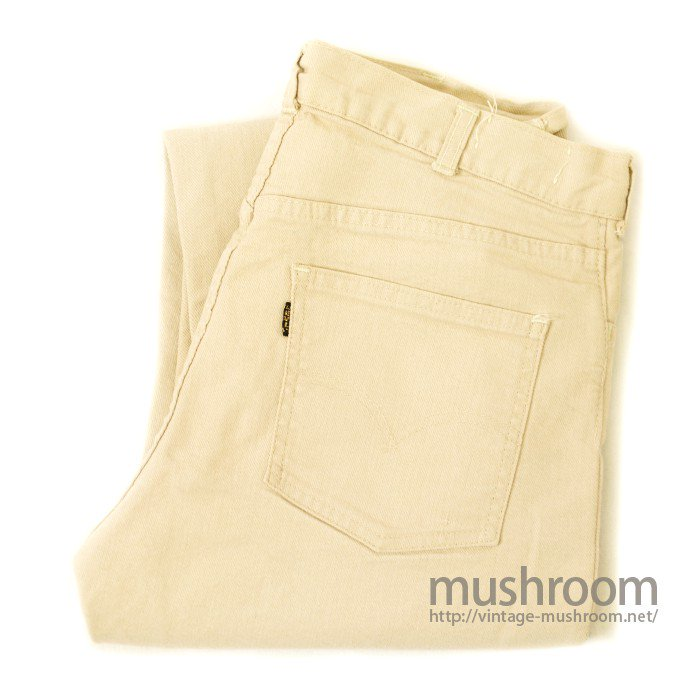 LEVIS TAPERED SLIM STRETCH COTTON PANTS( MINT )