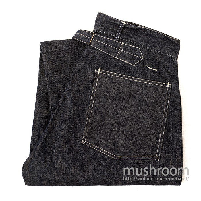 U.S.ARMY DENIM TROUSER WITH BUCKLE BACK( DEADSTOCK )
