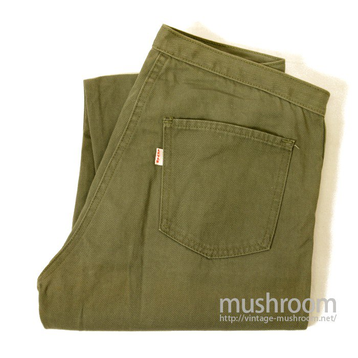 LEVIS 6614B COTTON TAPRED PANTS