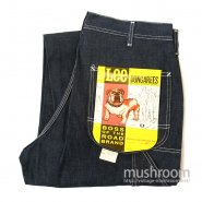 Lee BOSS OF THE ROAD DUNGAREES PAINTER PANTS( 36/32/DEADSTOCK )
