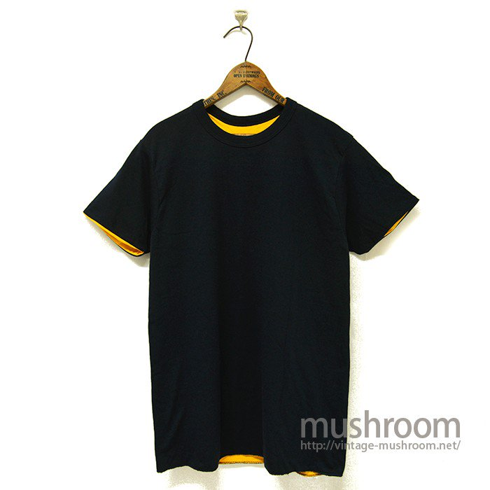 CHAMPION PLAIN REVERSIBLE T-SHIRT( DEADSTOCK )