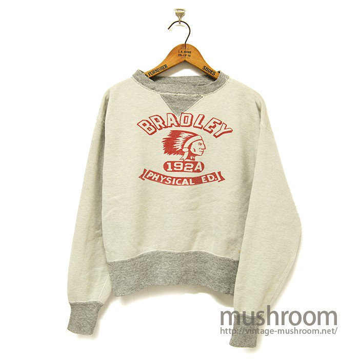 TWO-TONE DOUBLE V SWEAT SHIRT( INDIAN PRINTED )