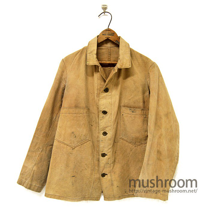 U.S.ARMY BROWN CANVAS FATIGUE JACKET