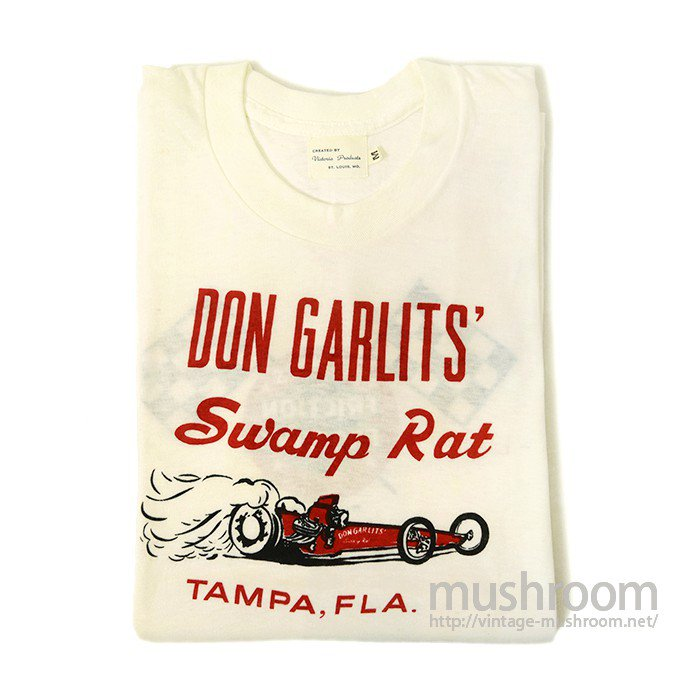 DON GARLITS HOT ROD T-SHIRT( DEADSTOCK )