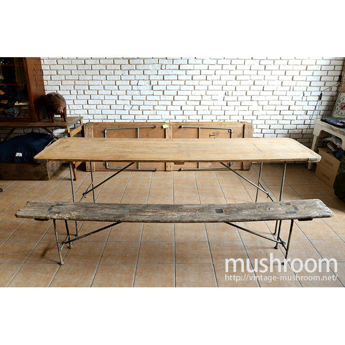 WW1-WW2 U.S.NAVY FOLDING WOOD TABLE�