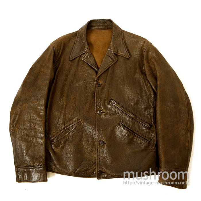 OLD GOATSKIN LEATHER SPORTS JACKET