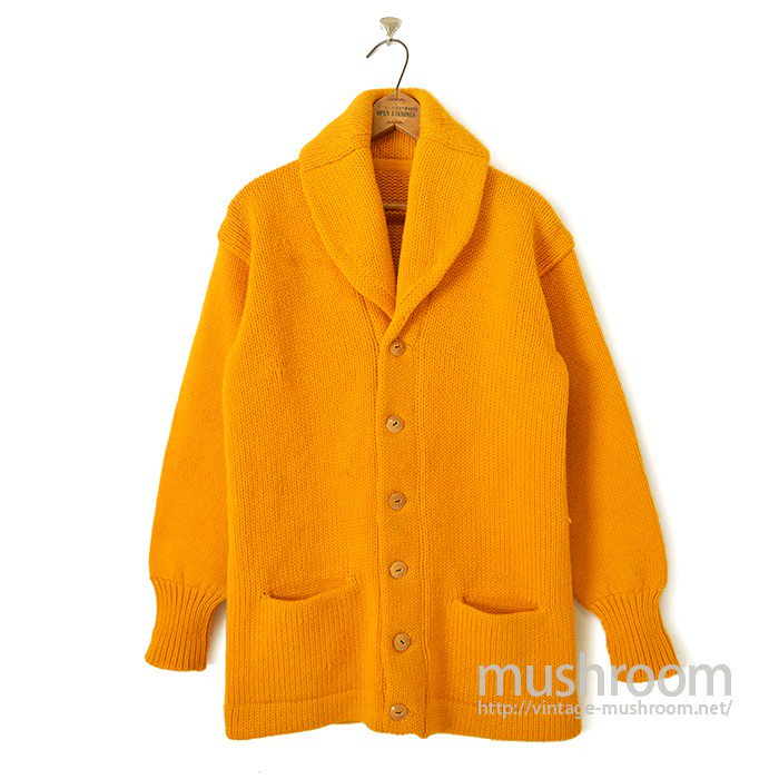 OLD PLAIN SHWALCOLLER CARDIGAN( YELLOW )