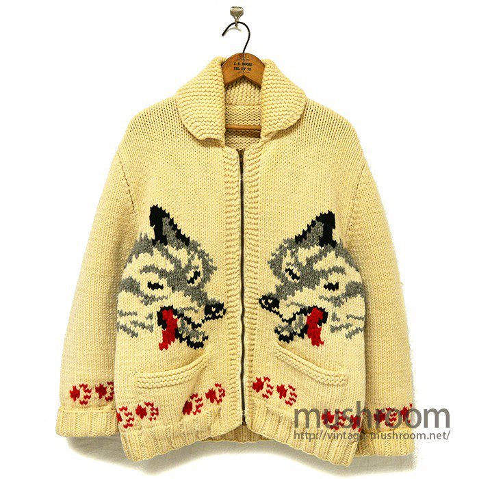 OLD COWICHAN WOOL JACKET( WOLF )