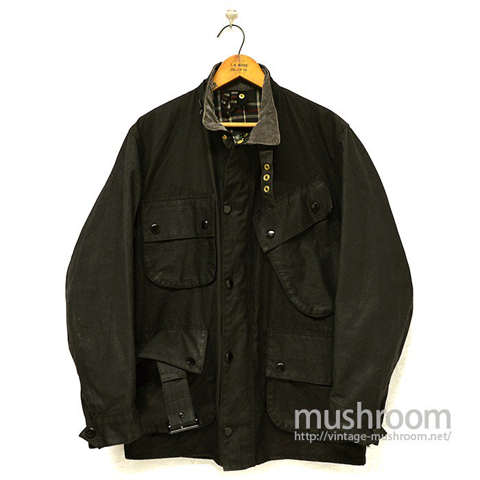 BARBOUR INTERNATIONAL WAXED COTTON JACKET( NATO/SUPER MINT )