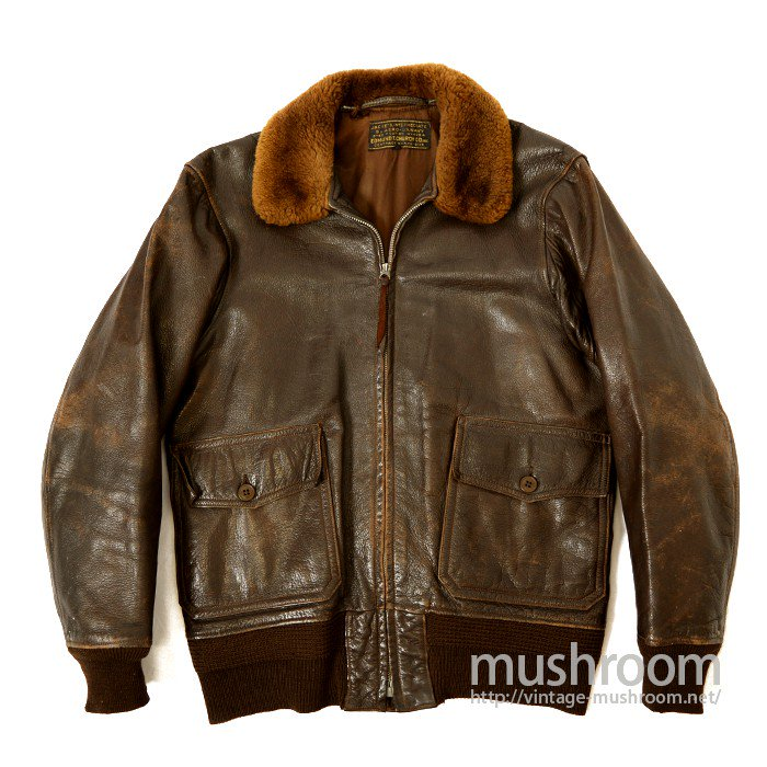 U.S.N M-422A FLIGHT JACKET( 36/EDMUND T. CHUCH CO. INC )