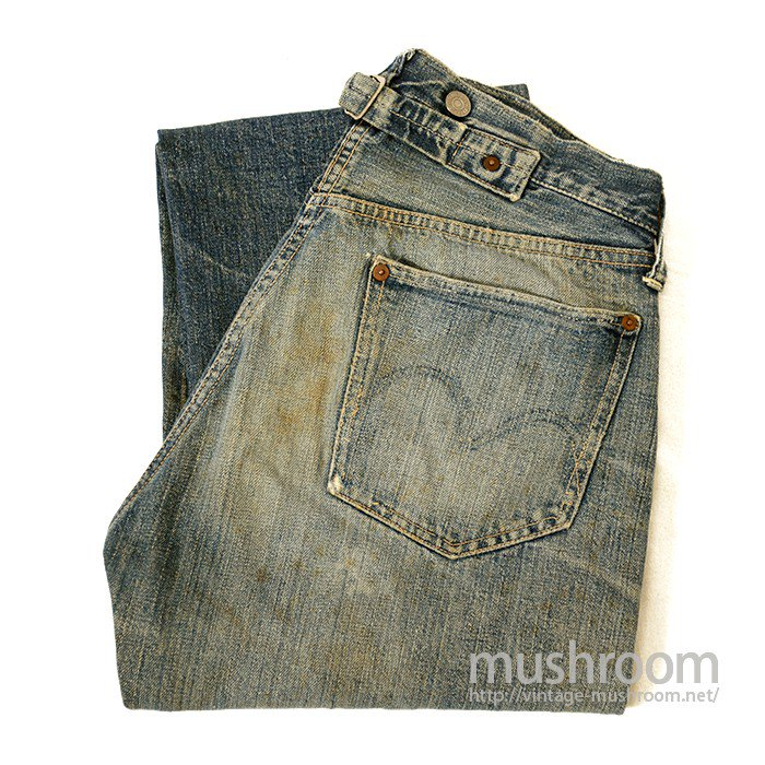 LEVIS 501XX JEANS WITH BUCKLEBACK( 1922's )