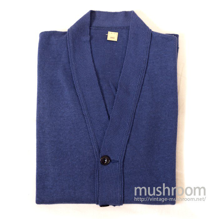OLD COTTON AND WOOL CARDIGAN( DEADSTOCK )