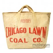 CHICAGO LAWN CANVAS COAL BAG