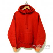 DUXBAK TWO-TONE SWEAT HOODY With THERMAL