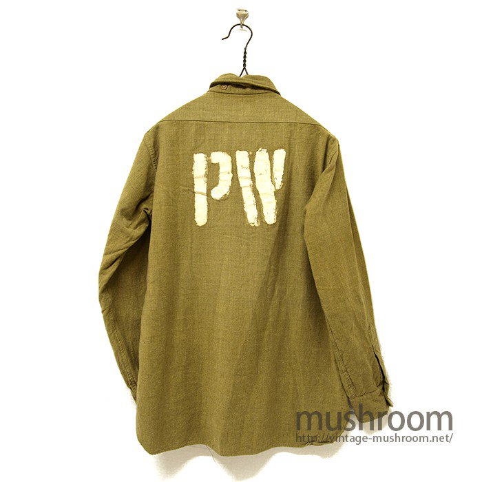 WW2  P.W MILITARY WOOL SHIRT
