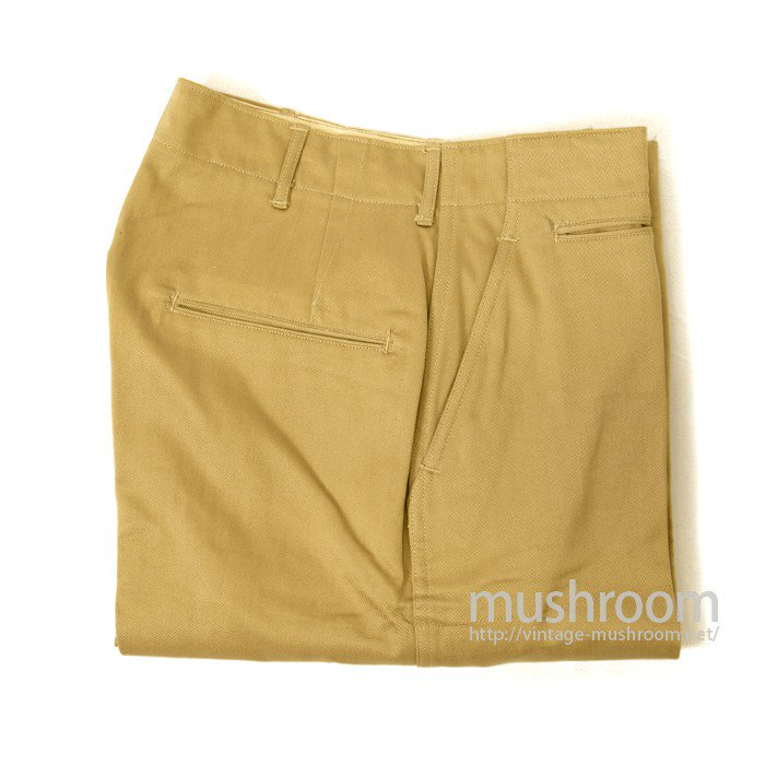 U.S.ARMY M-43 KHAKI CHINO TROUSER( DEADSTOCK )
