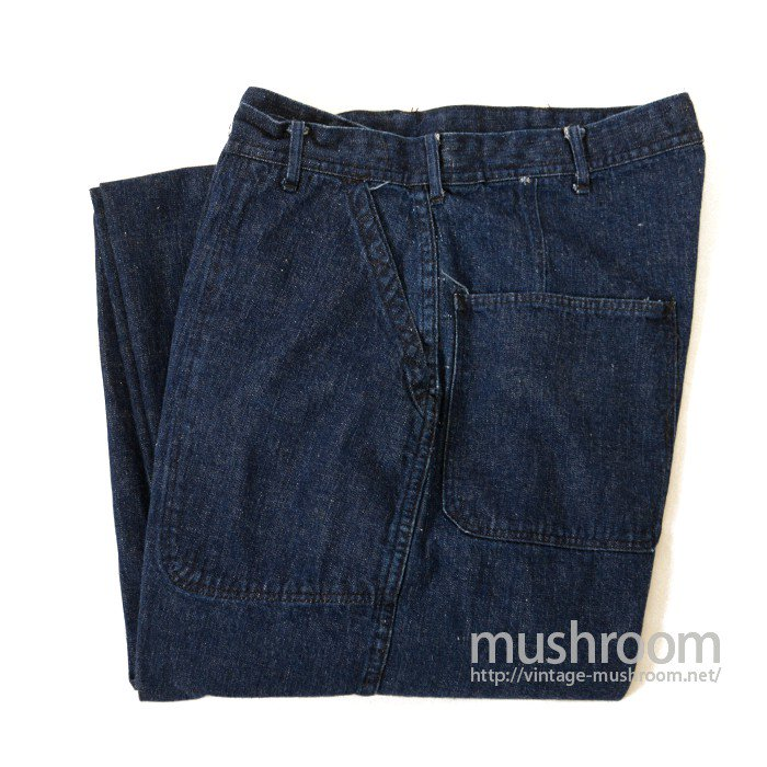 WW2 U.S.NAVY DENIM TROUSER( MINT )