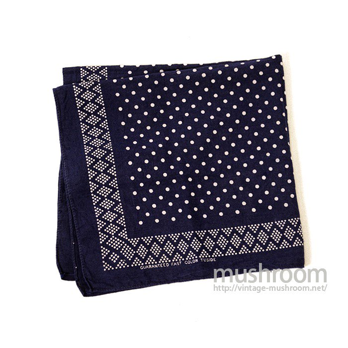 OLD POLKA DOT BANDANA( ONE-WASHED/MINT )