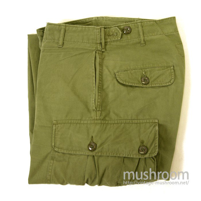 U.S.ARMY JUNGLE FATIGUE PANTS( 1ST MODEL )