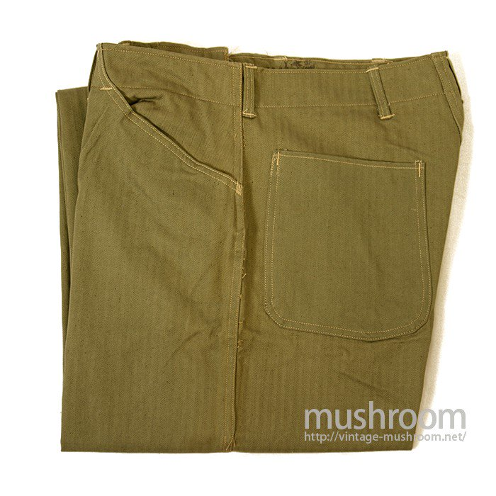 WW2 USMC HBT TROUSER( 32/DEADSTOCK )