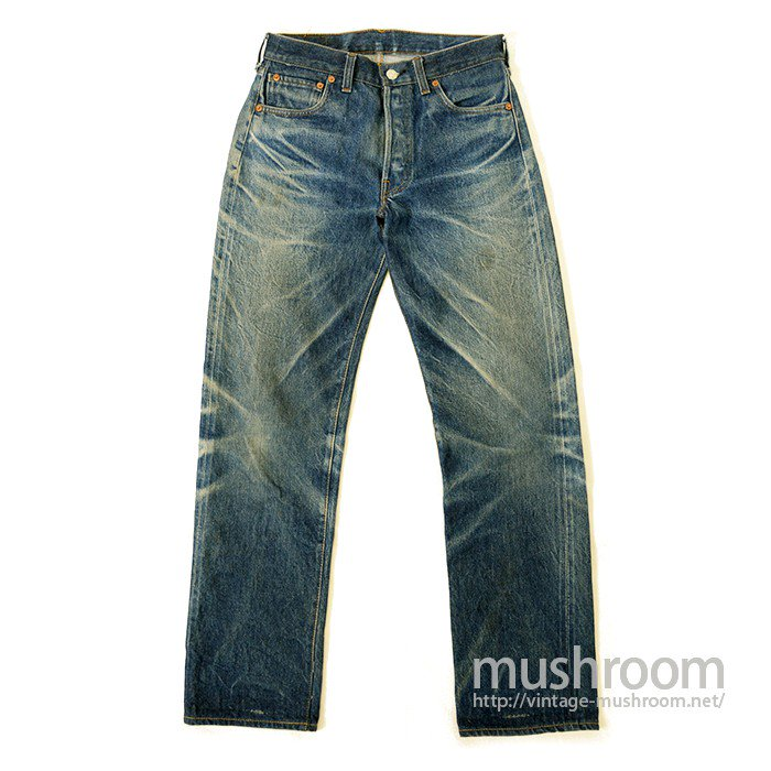 LEVIS 501 RED LINE JEANS( TIGER STRIPE )