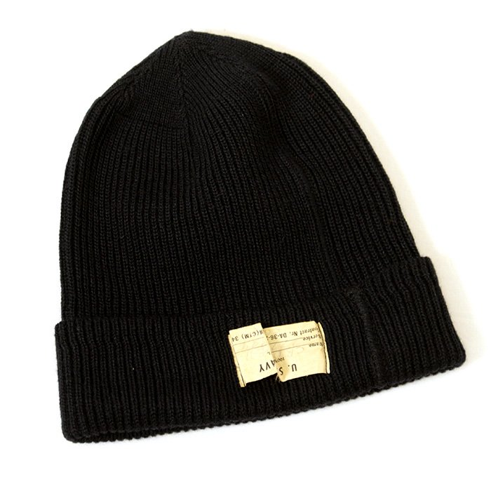 U.S.NAVY KNIT CAP( DEADSTOCK )